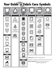 Fabric Care Symbols