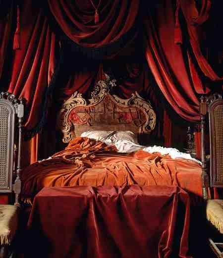 Silk Velvet Bedroom Head Board