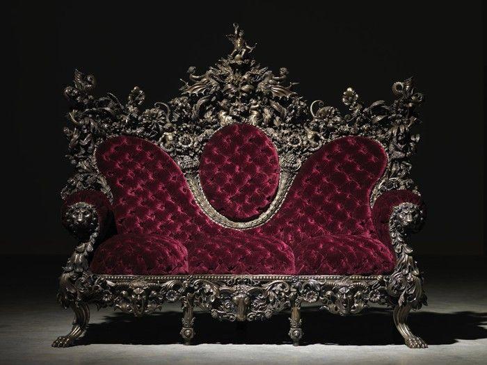 Silk Velvet Seating