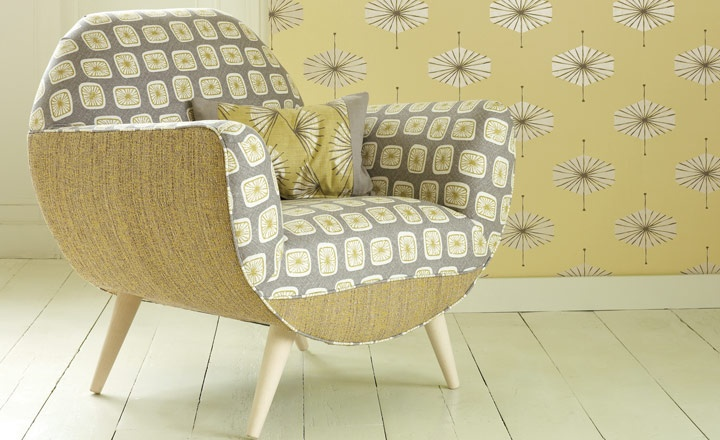 Yellow Linen Upholstery