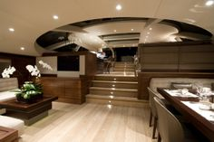 Adam Lay superyacht interior