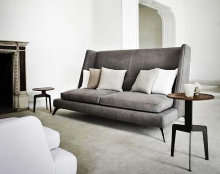 Grey Upholstery Linen