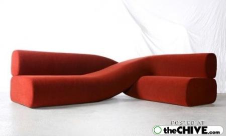 Unusual and cool modern sofa