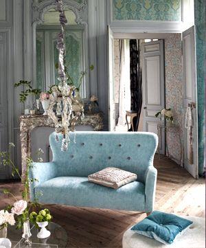French Blue Velvet