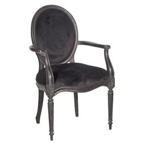 Black Velvet Upholstery