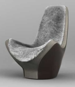 Traveler Grey Upholstered Chair
