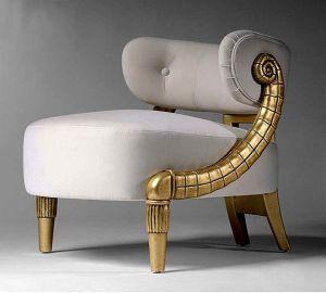 White upholstery velvet