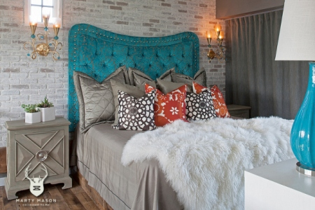 Accessorizing your Guest room from the Marty Mason Collected Home Blog.