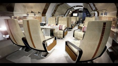 Luxury Aircraft Faux Leather