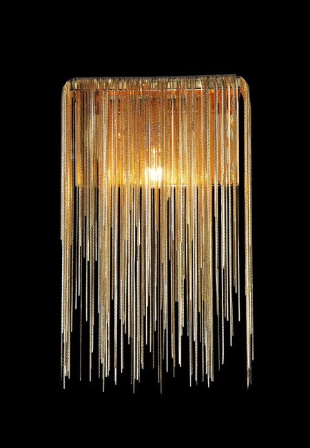 Gold Wall Sconce by Avenue