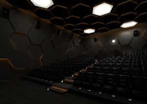 Inteior  Design For S V Ram Theaters, Dharapuram