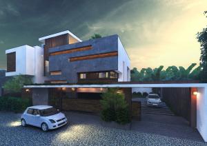 Exterior Design For Mr.Ramesh,Tirunelveli